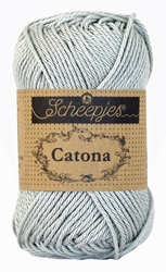 Haakkatoen Catona light silver 172